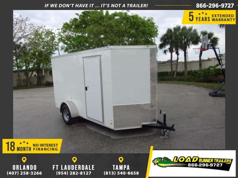 *115752* 6x12 Enclosed Cargo Trailer  LRT Haulers & Trailers 6 x 12