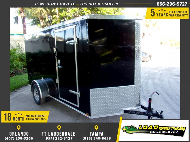 *118013* 6x12 Enclosed Cargo Trailer  LRT Haulers & Trailers 6 x 12