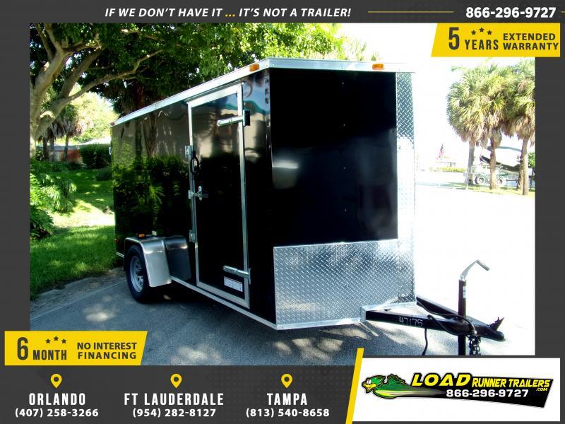 *111600* 6x12 Enclosed Cargo Trailer |LRT Haulers & Trailers 6 x 12