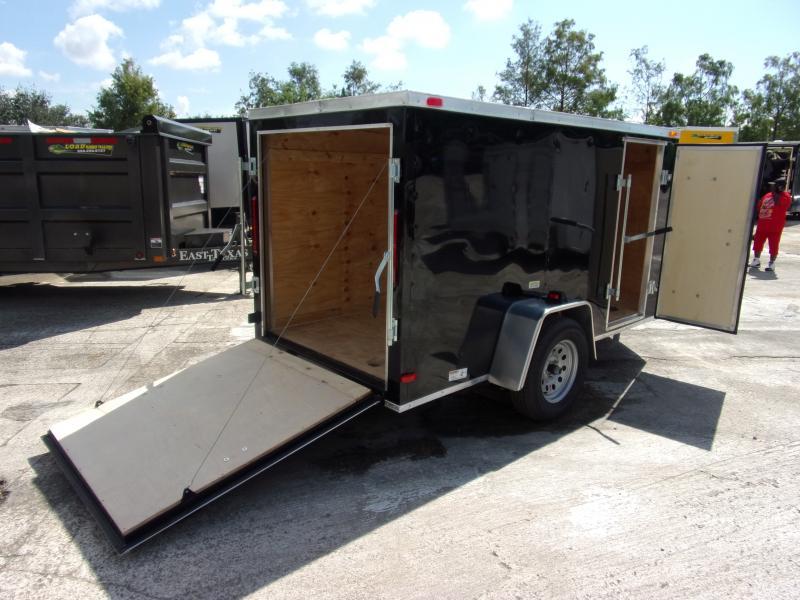 *111360* 5x10 Enclosed Cargo Trailer  LRT Haulers & Trailers 5 x 10