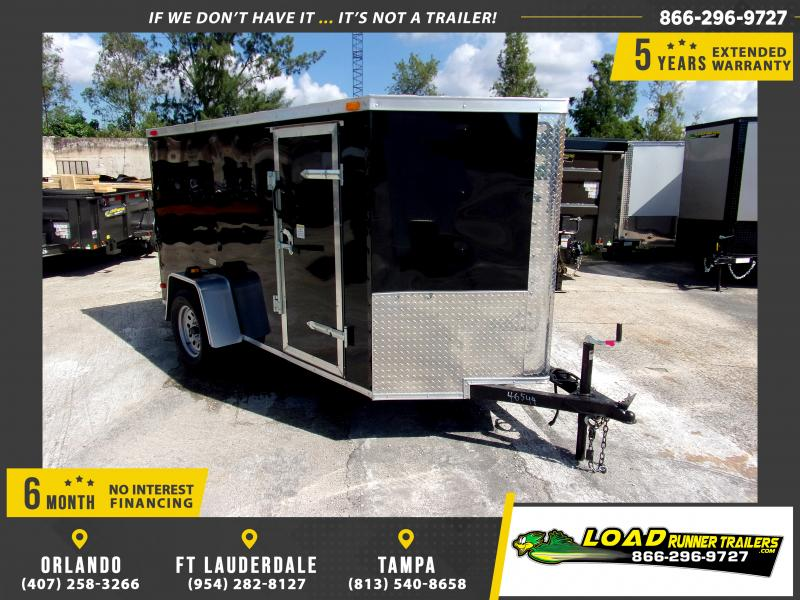*111360* 5x10 Enclosed Cargo Trailer |LRT Haulers & Trailers 5 x 10