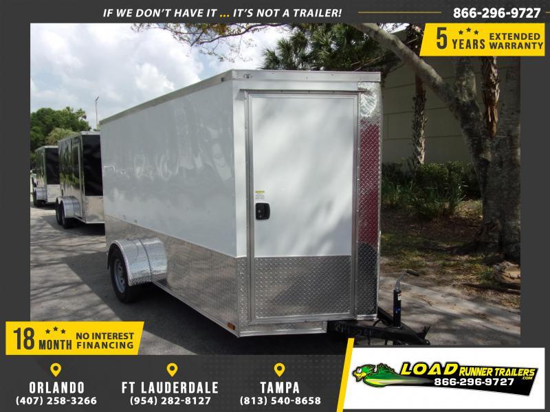*114854* 6x12 Enclosed Cargo Trailer |LRT Haulers & Trailers 6 x 12