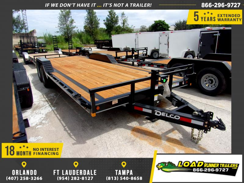 *110730* 8.5x22 Car Trailer |LRT Tandem Axle Trailers 8.5 x 22