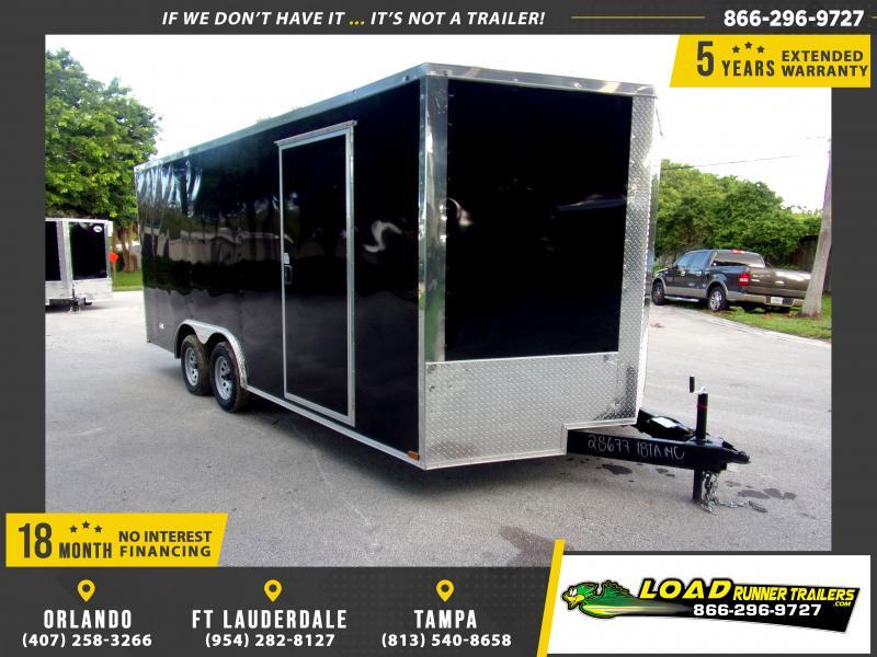 *118096* 8.5x18 Enclosed Cargo Trailer |LRT Tandem Axle Trailers 8.5 x 18