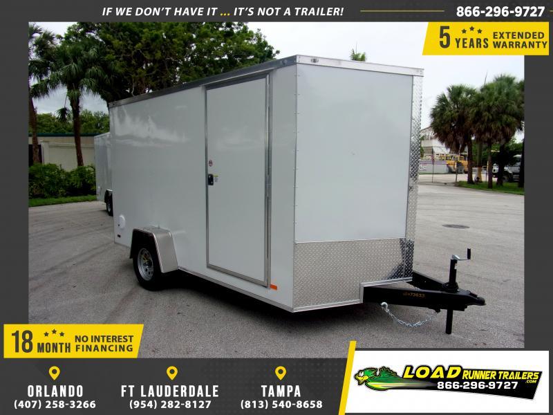 *116006* 7x12 Enclosed Cargo Trailer |LRT Haulers & Trailers 7 x 12