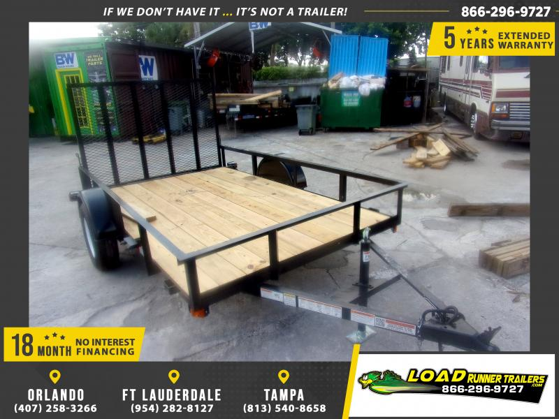 *116676* 6x10 Utility|Lawn|ATV|Multipurpose Trailer |LRT Haulers & Trailers 6 x 10