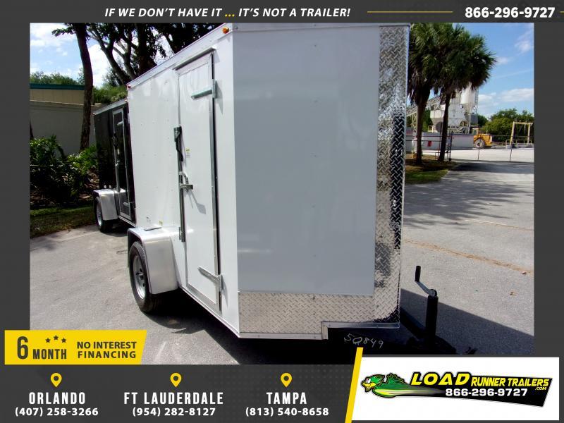 *114635* 5x8 Enclosed Cargo Trailer  LRT Haulers & Trailers 5 x 8