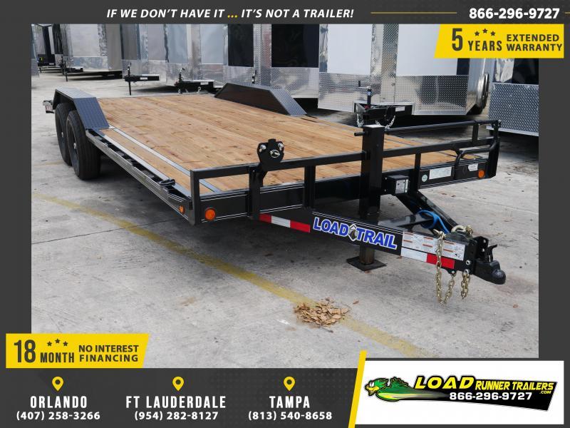 *CH42* 8.5x22 7 TON Car Hauler Trailer |LR Trailers & Haulers 8.5 x 22 | CH102-22T7-DOF