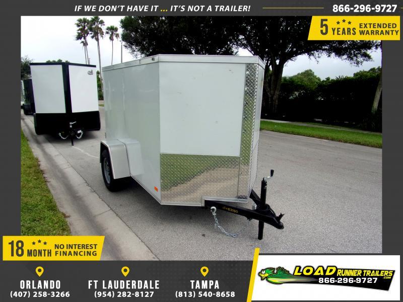 *117730* 5x8 Enclosed Cargo Trailer |LRT Haulers & Trailers 5 x 8