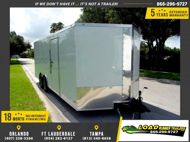 *110338* 8.5x20 Enclosed Cargo Trailer |LRT Tandem Axle Trailers 8.5 x 20