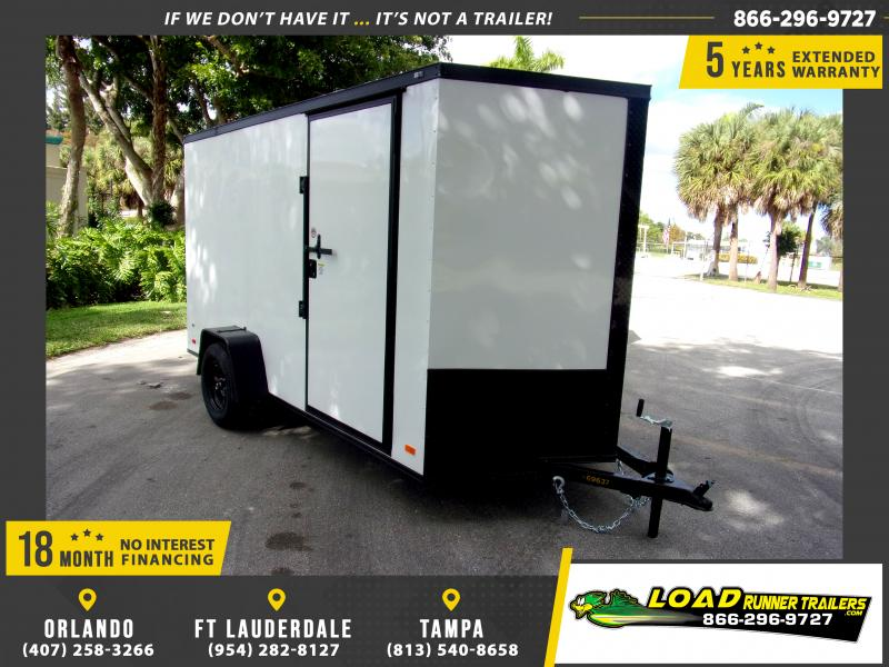 *116666* 6x12 Enclosed Cargo Trailer  LRT Haulers & Trailers 6 x 12