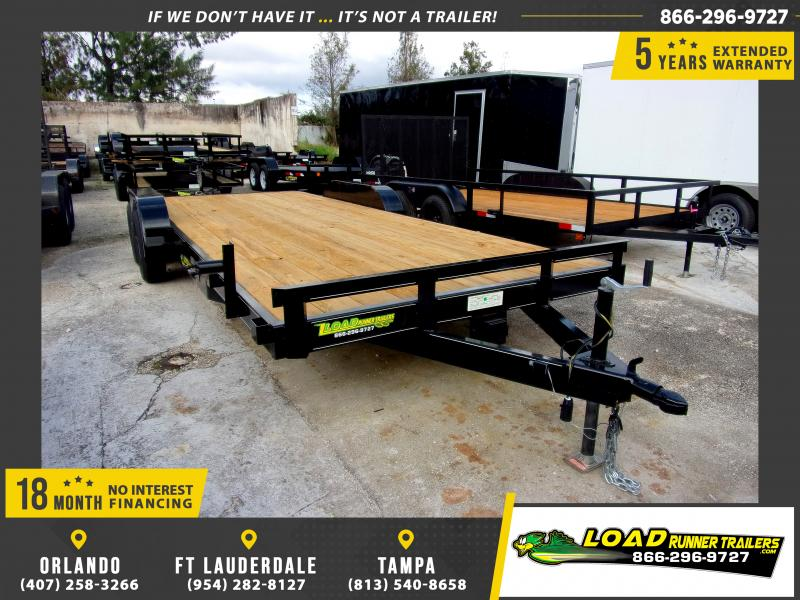 *112255* 7x20 Car Trailer |LRT Tandem Axle Trailers 7 x 20