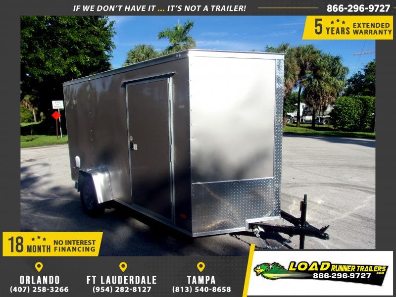 *117626* 6x12 Enclosed Cargo Trailer |LRT Haulers & Trailers 6 x 12