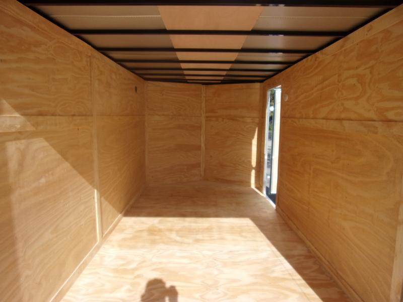 *110562* 7x14 Enclosed Cargo Trailer |LRT Tandem Axle Trailers 7 x 14