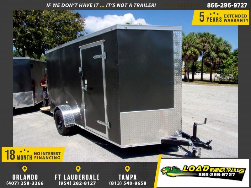 *114661* 6x12 Enclosed Cargo Trailer |LRT Haulers & Trailers 6 x 12