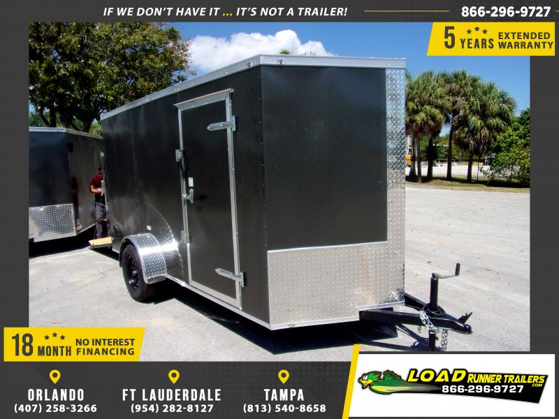*114661* 6x12 Enclosed Cargo Trailer |LRT Haulers & Trailers 6 x 12