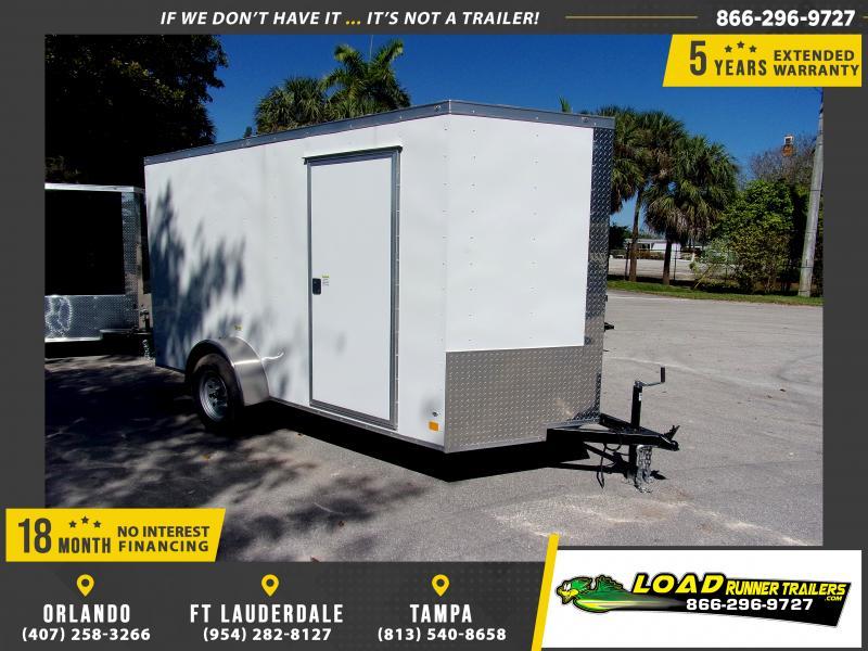 *115864* 6x12 Enclosed Cargo Trailer  LRT Haulers & Trailers 6 x 12