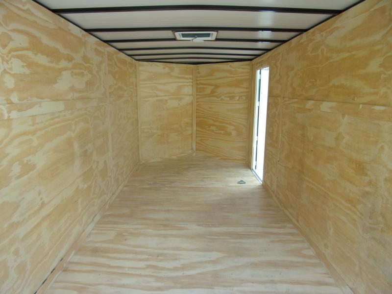 *110548* 7x14 Enclosed Cargo Trailer |LRT Tandem Axle Trailers 7 x 14