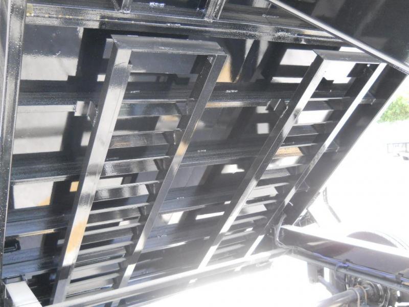 *DB21* 7x14 7 TON Dump Trailer W/3Ft Sides |Dumps & Trailers 7 x 14 | D83-14T7-36S