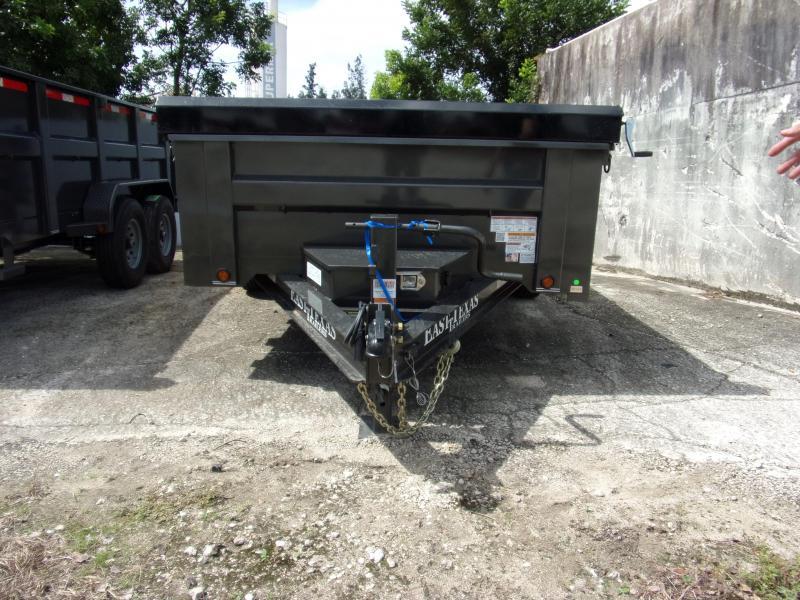 *115030* 7x14 Dump Trailer |LRT Tandem Axle Trailers 7 x 14