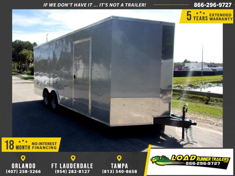 *113290* 8.5x20 Enclosed Cargo Trailer |LRT Tandem Axle Trailers 8.5 x 20