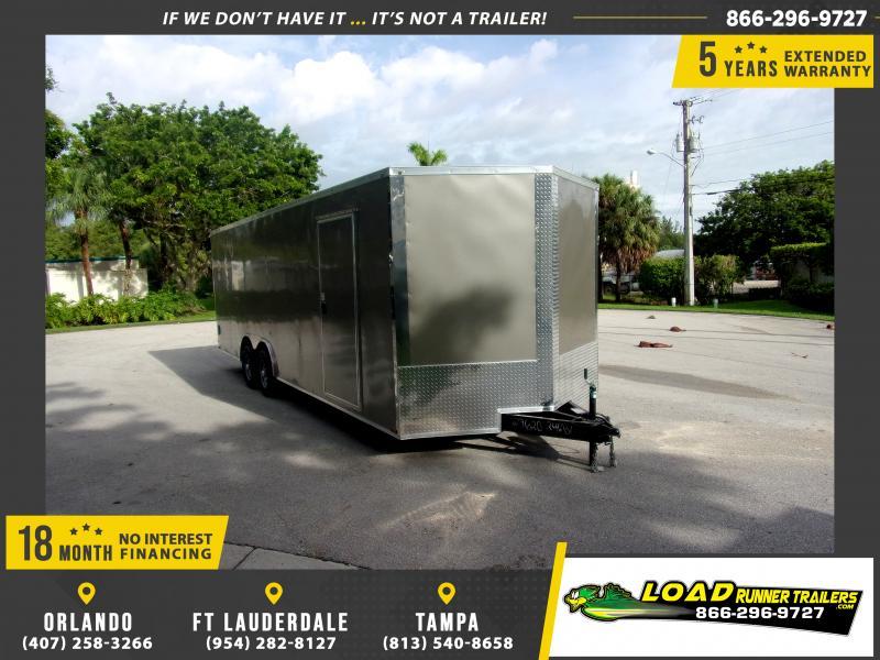 *116367* 8.5x24 Enclosed Cargo Trailer |LRT Tandem Axle Trailers 8.5 x 24