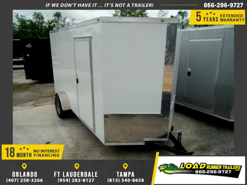 *109813* 6x12 Enclosed Cargo Trailer |LRT Haulers & Trailers 6 x 12