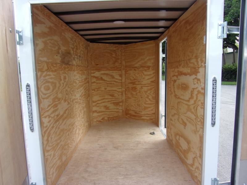 *117813* 5x8 Enclosed Cargo Trailer |LRT Haulers & Trailers 5 x 8