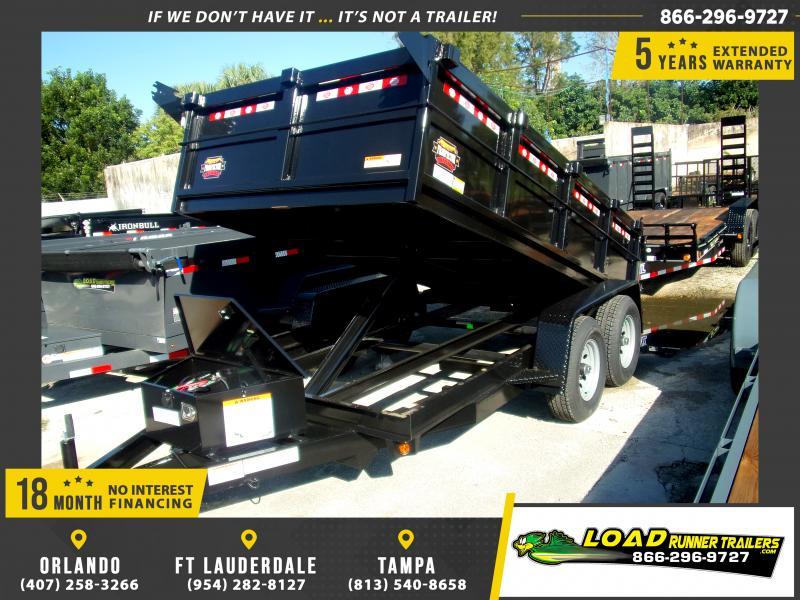 *117924* 6x12 5 TON Dump Trailer |LRT Trailers & Dumps 6 x 12