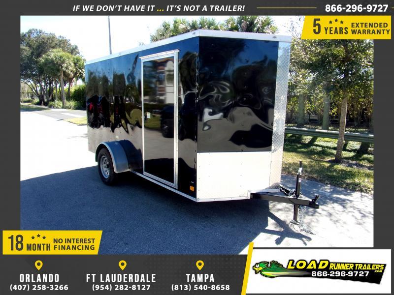 *114877* 6x12 Enclosed Cargo Trailer |LRT Haulers & Trailers 6 x 12