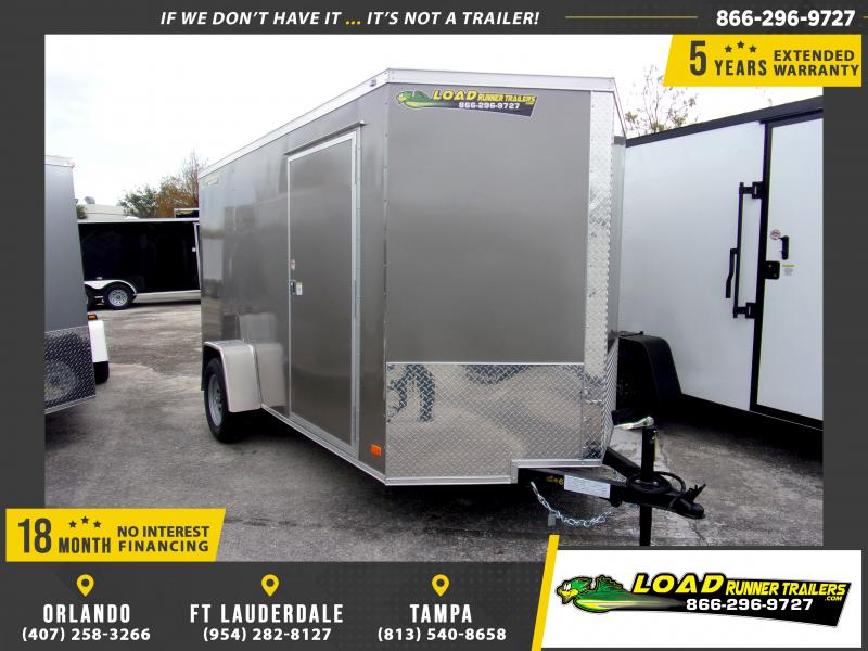 *113055* 6x12 Enclosed Cargo Trailer |LRT Haulers & Trailers 6 x 12