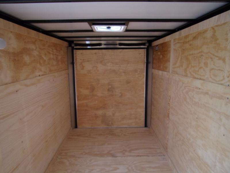 *113055* 6x12 Enclosed Cargo Trailer |LRT Haulers & Trailers 6 x 12