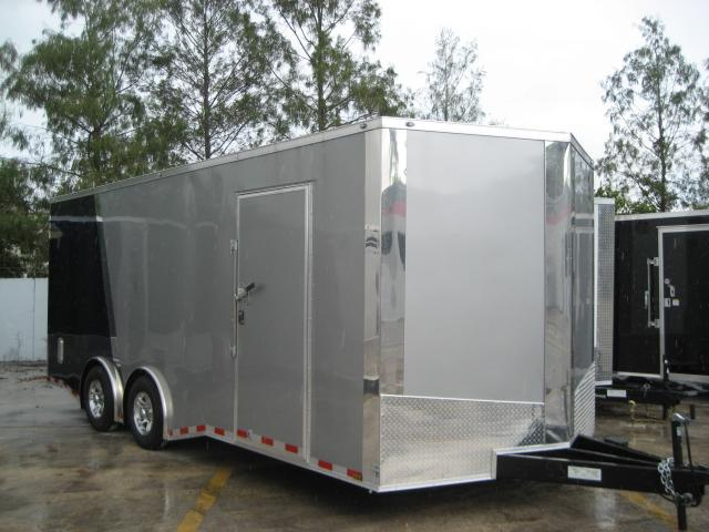 *E11G* 8.5x20 Cargo Enclosed Trailer Car Hauler 8.5 x 20 | EV8.5-20T5TS-R