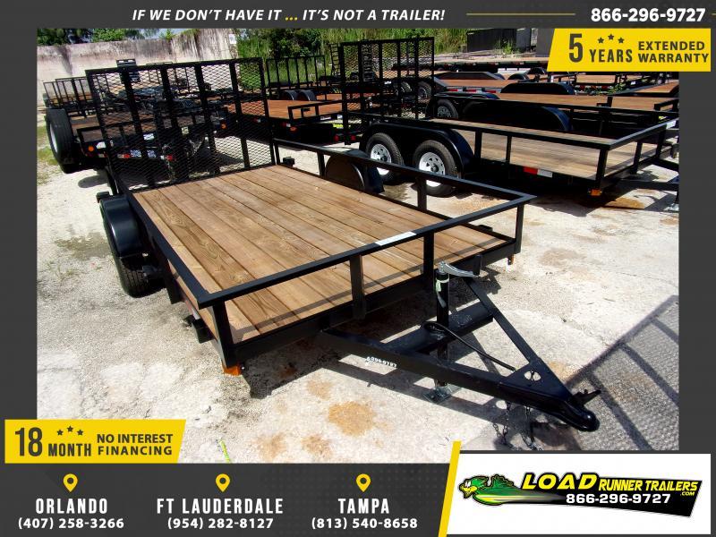 *117472* 6x12 Utility|Lawn|ATV|Multipurpose Trailer |LRT Haulers & Trailers 6 x 12