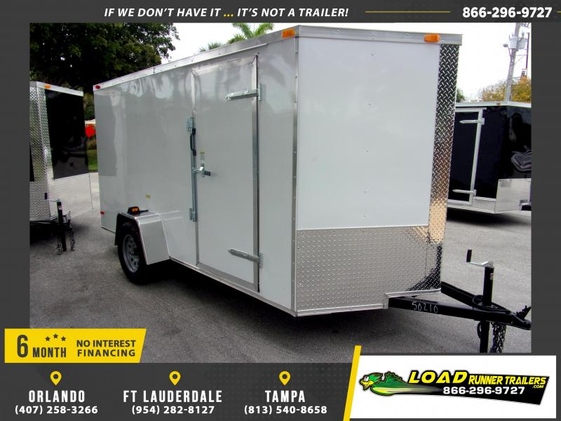 *113807* 6x12 Enclosed Cargo Trailer |LRT Haulers & Trailers 6 x 12