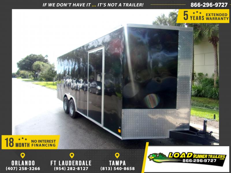 *114385* 8.5x20 Enclosed Cargo Trailer |LRT Tandem Axle Trailers 8.5 x 20