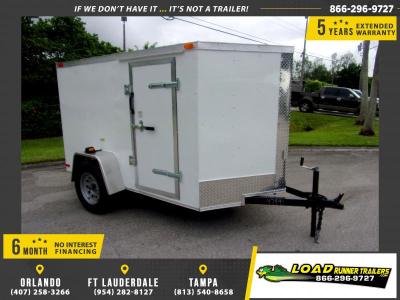 *112270* 5x8 Enclosed Cargo Trailer |LRT Haulers & Trailers 5 x 8