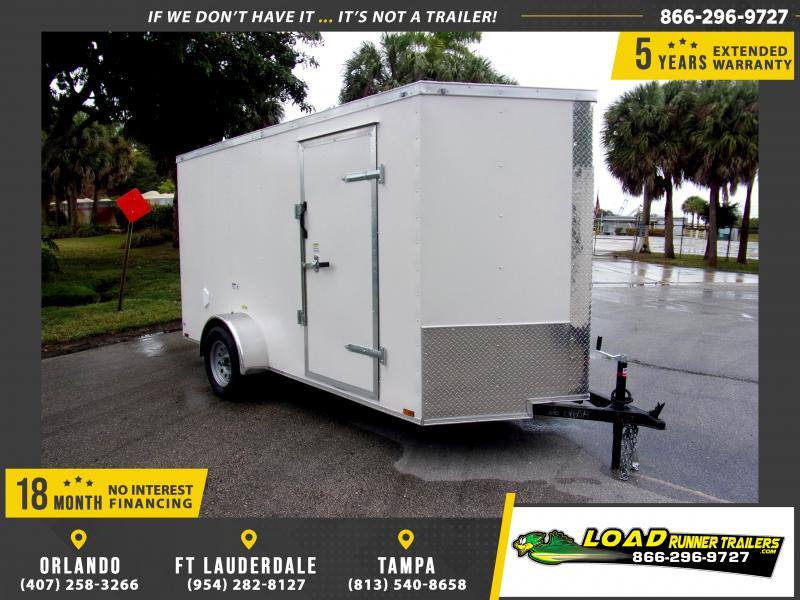 *113505* 6x12 Enclosed Cargo Trailer |LRT Haulers & Trailers 6 x 12