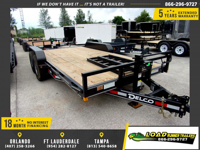 *110585* 7x16 Car Trailer |LRT Tandem Axle Trailers 7 x 16