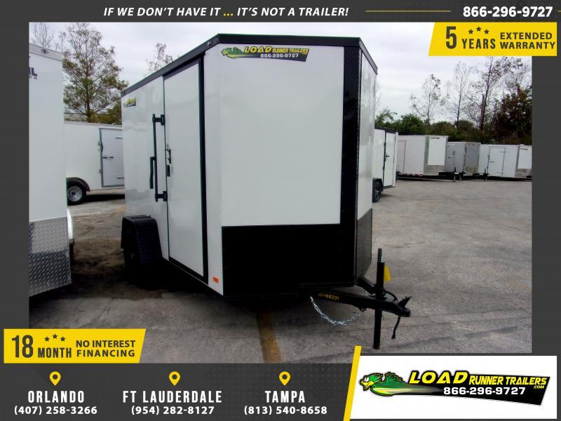 *113213* 5x10 Enclosed Cargo Trailer |LRT Haulers & Trailers 5 x 10