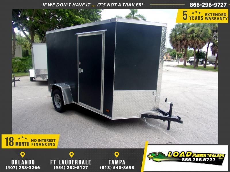 *116615* 6x10 Enclosed Cargo Trailer |LRT Haulers & Trailers 6 x 10