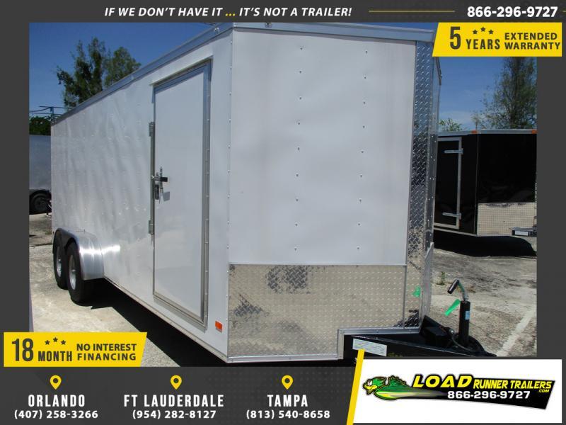 *109021* 7x20 Enclosed Cargo Trailer |LRT Tandem Axle Trailers 7 x 20