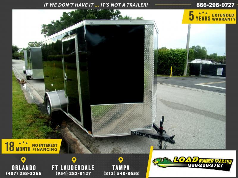 *114597* 6x12 Enclosed Cargo Trailer  LRT Haulers & Trailers 6 x 12