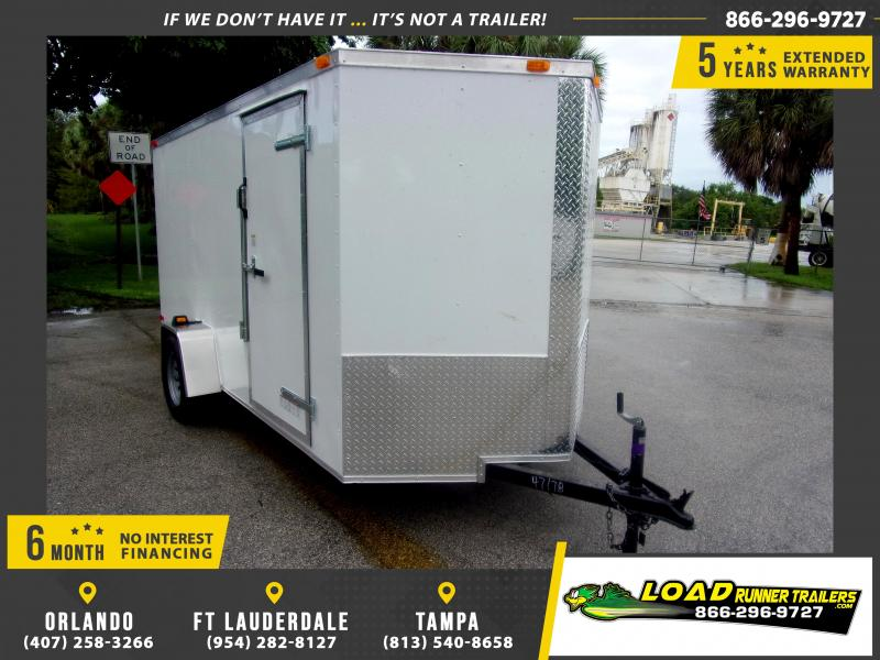 *111959* 6x12 Enclosed Cargo Trailer |LRT Haulers & Trailers 6 x 12