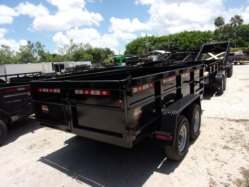 *115814* 6x12 5 TON Dump Trailer |LRT Trailers & Dumps 6 x 12