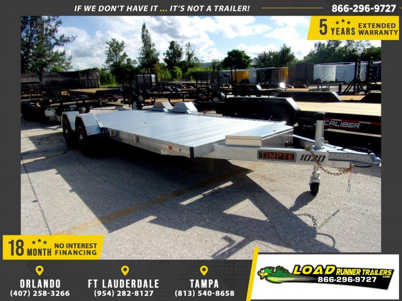 *116896* 7x20 Tilt Deck Car Hauler Trailer |LRT Trailers 7 x 20