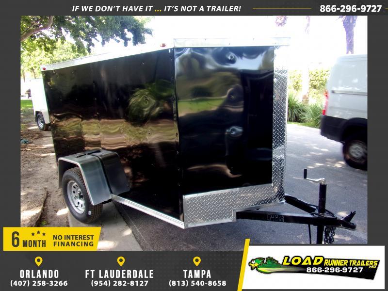 *117979* 5x8 Enclosed Cargo Trailer  LRT Haulers & Trailers 5 x 8