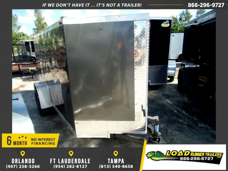 *117772* 5x10 Enclosed Cargo Trailer  LRT Haulers & Trailers 5 x 10