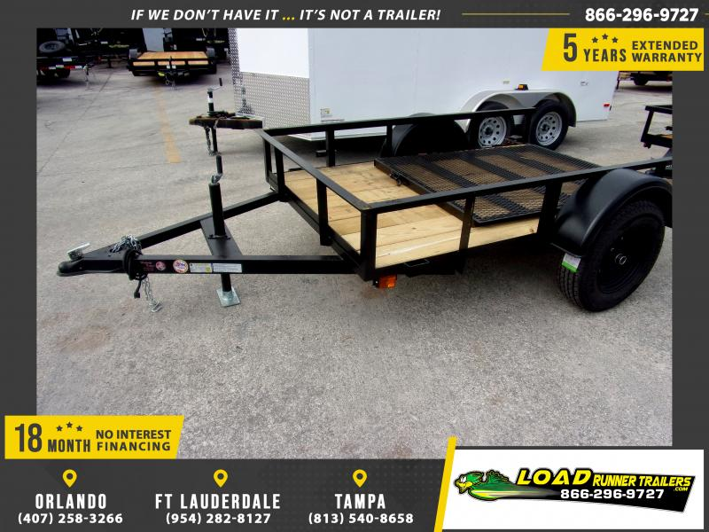 *112581* 5x8 Utility|Lawn|ATV|Multipurpose Trailer |LRT Haulers & Trailers 5 x 8