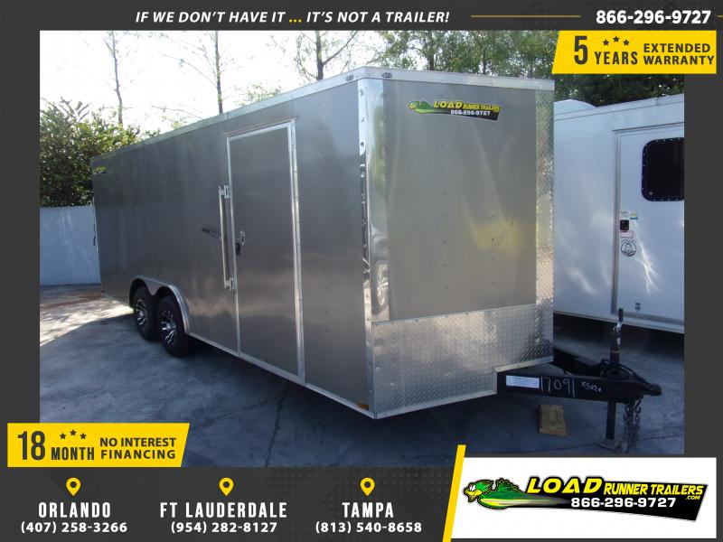 *115011* 8.5x20 Enclosed Cargo Trailer |LRT Tandem Axle Trailers 8.5 x 20